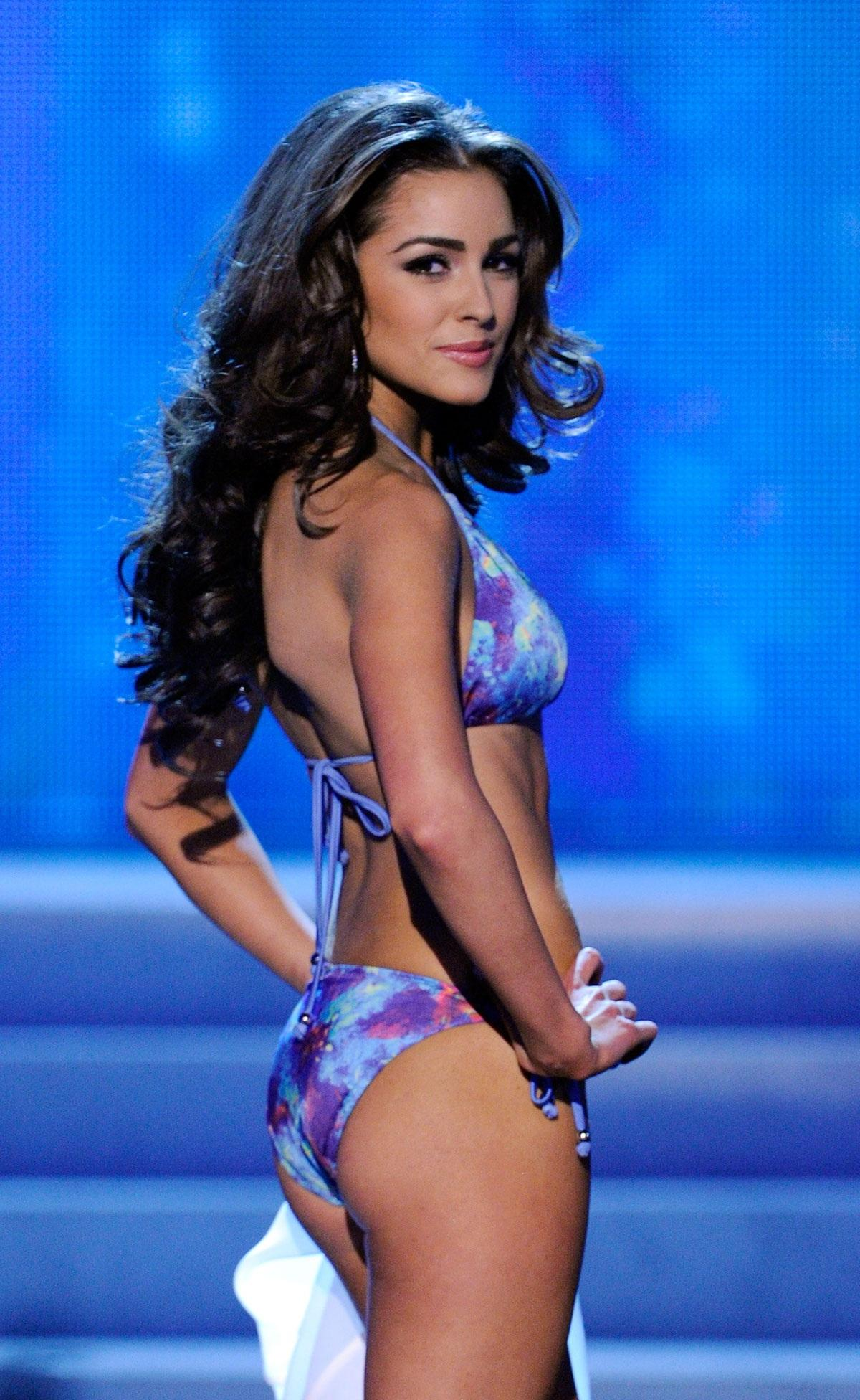 Olivia Culpo As Miss Universe en la Miss Universe Pageant In Las Vegas